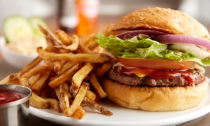 The Cherry Pit Bar & Grill: Burgers and Pub Food for Lunch or Dinner for Two or Four at The Cherry Pit(40% Off)