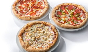 Oggi's Pizza Express: Pizza and Craft Beers at Oggi's Pizza Express (Up to 42% Off). Two Options Available.