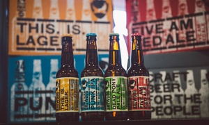 Brewdog All Deals: Beer Tasting and Talk with Five Craft Beers, Cheese and Meats for Two at BrewDog, Choice of Two Locations