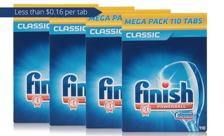 440 Tablets: Finish® Powerball®