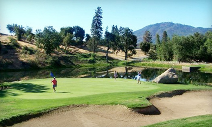 Sierra Meadows RV Park - Oakhurst-North Fork: $95 for a One-Night RV Stay with Two Rounds of Golf at Sierra Meadows Country Club in Ahwahnee (Up to $193 Value)
