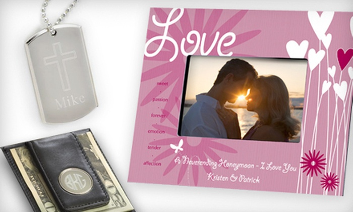 My Personal Memories: $15 for $35 Worth of Customizable Gifts and Keepsakes from My Personal Memories