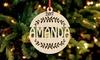 Adornos navideños personalizados