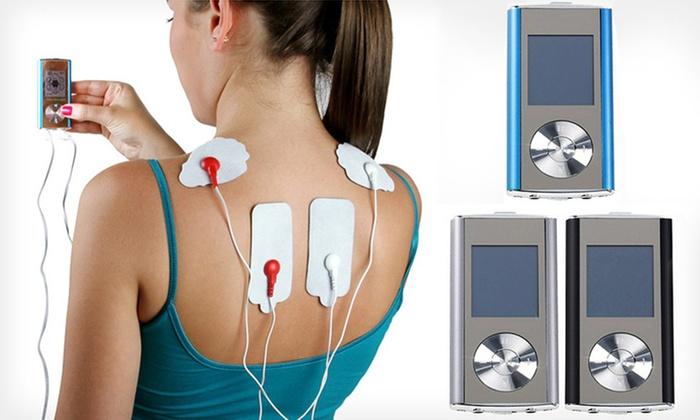 Digital Pulse Massager Sets: 8-Mode Digital Pulse Massager in Blue, Black, or Silver with or without Combo Set. Free Returns.