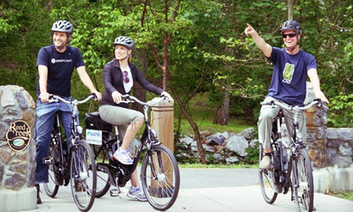 Electro Bicycle Tours - Downtown Asheville: Two-Hour Electric-Bike Tour for One or Two or Two-Hour Electric-Bike Rental from Electro Bicycle Tours (Up to 61% Off)