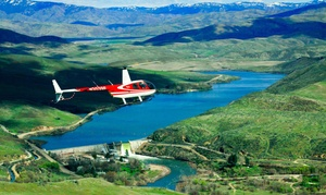 Silverhawk Aviation: $125 for 15-Minute Valentine's Day Helicopter Tour for Two from Silverhawk Aviation ($150 Value)