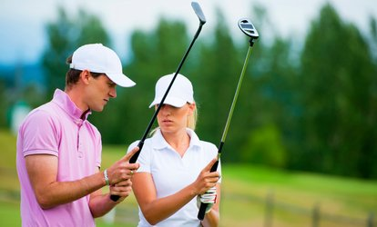 Up to 72% Off One or Three Golf Lessons and Club Fitting