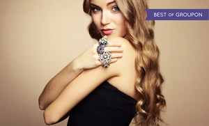 Le Salon East: Haircut with Optional Highlights or Color or Keratin Smoothing Treatment at Le Salon East (Up to 82% Off)