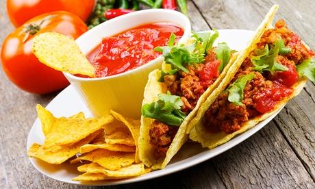Cocina mexicana para dos con margaritas, principales, postres y bebida desde 22,90 €