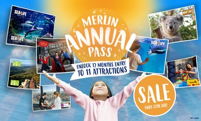 12 Months Unlimited Entry to 11 Attractions