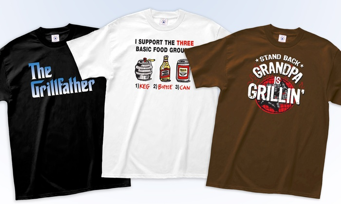 L a imprints grillin 39 t shirts groupon goods for La imprints t shirts