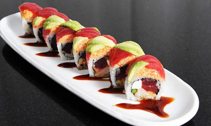 Japanese food ichiro modern japanese cuisine groupon for Cuisine japanese