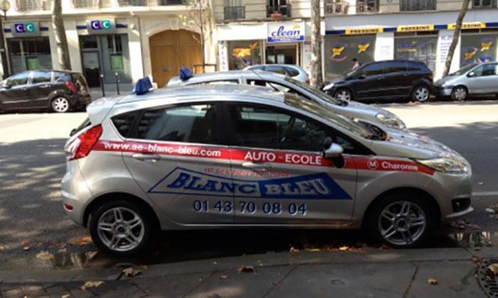 Auto-école Blanc Bleu à - Paris   Groupon 82f440af0b0a
