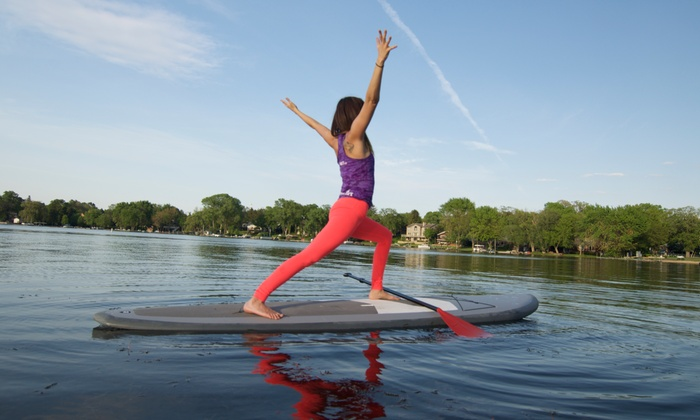Standup And Flow - Wauconda: $20 for $40 Worth of Paddleboarding — Standup and Flow