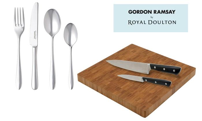 Set Of Kitchen Knives Gordon Ramsay