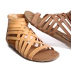 Modern Rebel Goldy Gladiator Sandals