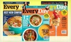 Every Day With Rachael Ray Magazine Subscriptions: 1- or 2-Year Subscription to Every Day with Rachael Ray Magazine (Half Off). Free Shipping.