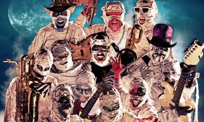 Here Come The Mummies Halloween Extravaganza with Graceland Ninjaz - House of Blues Dallas: $10 for House of Blues' Halloween Extravaganza on October 31 (Up to $19.33 Value)