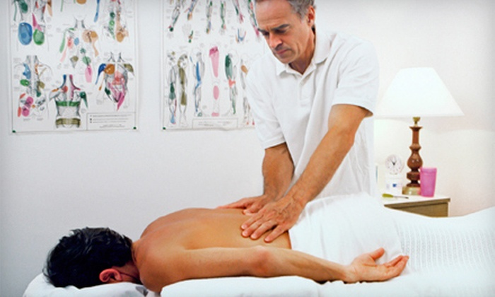 Encompass Chiropractic Center - Multiple Locations: One or Three Massages with Adjustments and a Chiropractic Exam at Encompass Chiropractic Center (Up to 91% Off)