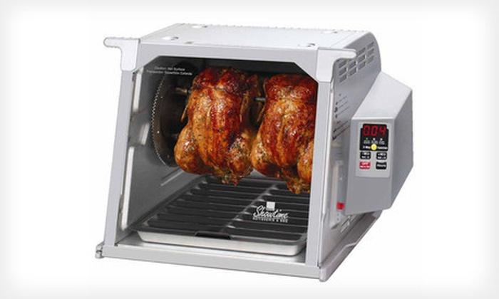 Ronco Rotisserie and Barbecue Oven: $119 for a Ronco Digital Showtime Rotisserie and Barbecue Oven ($179.99 List Price). Free Shipping and Free Returns.