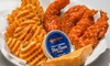 Atomic Wings - East Village: $13 for $20 Worth of Signature Wings, Sandwiches, Sides, and Drinks at Atomic Wings East Village