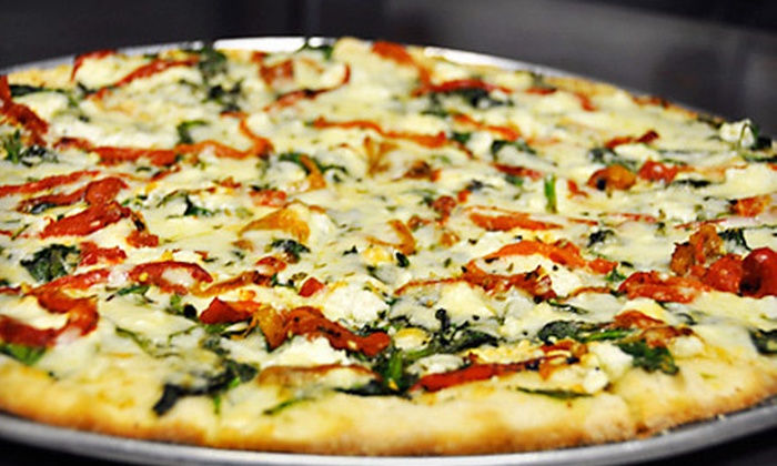D'Amore's Pizza - Multiple Locations: Half Off Italian Pizzeria Cuisine at D'Amore's Pizza (Half Off). Two Options Available.