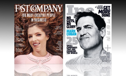 1-Year, 10-Issue Subscription to Fast Company or Inc. Magazine
