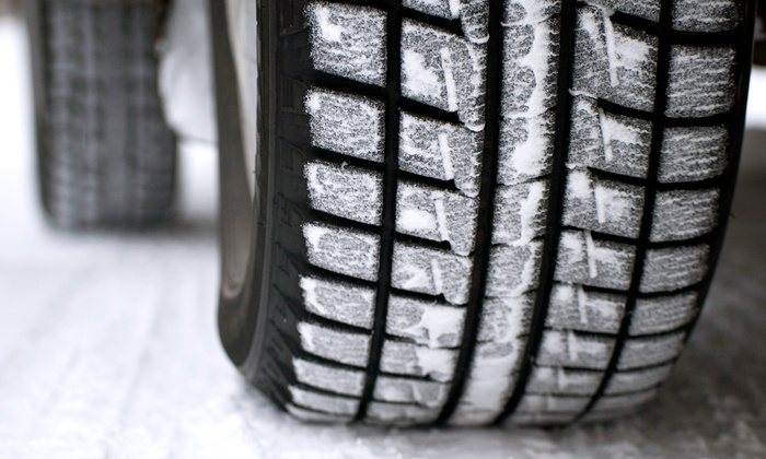 Four Seasons Tires - Parkview Hills: C$35 for At-Home Winter Tire Change Service and Tire Storage for Six Months (C$149 Value)