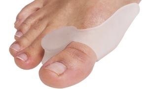 Dr Rogo Bunion-Relief Gel Separators for Big Toes at Dr Rogo Bunion-Relief Gel Separators for Big Toes, plus 9.0% Cash Back from Ebates.