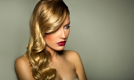 $59 for a Haircut and Full Foil Highlights at Salon Onyx ($131 Value)