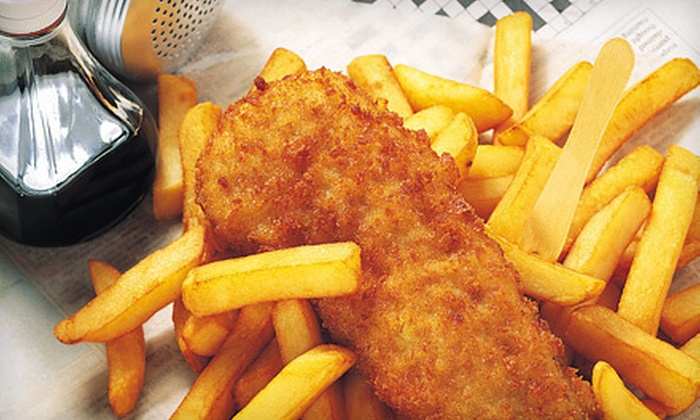 Alfie's Fish & Chips - Lompoc: $10 for $20 Worth of Seafood and Drinks at Alfie's Fish & Chips in Lompoc