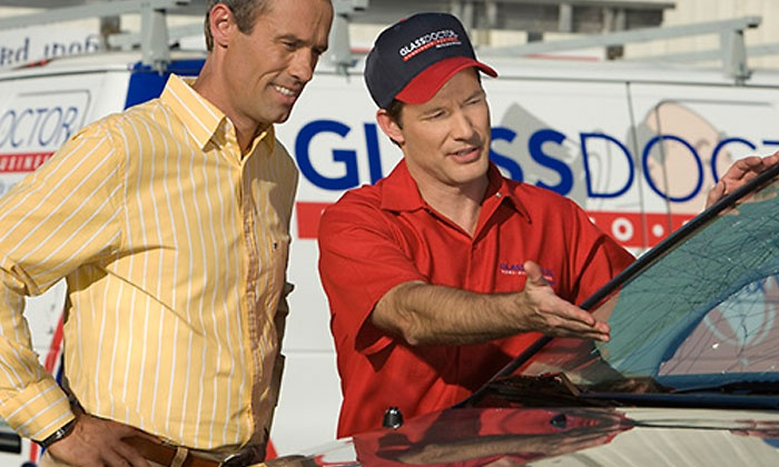 Glass Doctor - Englewood: Three Rock-Chip Repairs, Windshield Replacement, or Retrofit Glass Services at Glass Doctor (Up to 50% Off)