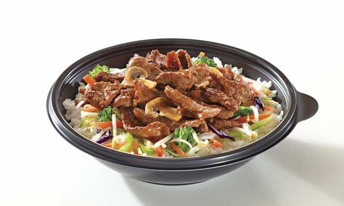 Teriyaki Experience - Willowbrook Shopping Centre : C$9 for Asian at Teriyaki Experience (Up to C$18.74 Value)