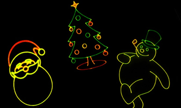 Whitworth Ferguson Planetarium - Buckham Hall: Holiday Music Laser Show for Two or Four at Whitworth Ferguson Planetarium (Up to 52% Off)