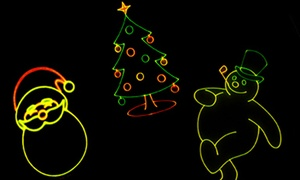 Whitworth Ferguson Planetarium: Holiday Music Laser Show for Two or Four at Whitworth Ferguson Planetarium (Up to 52% Off)