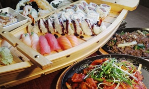 Honey Pig Izakaya and Karaoke: $35 for Japanese and Korean Prix-Fixe Dinner at Honey Pig Izakaya ($69 Value)