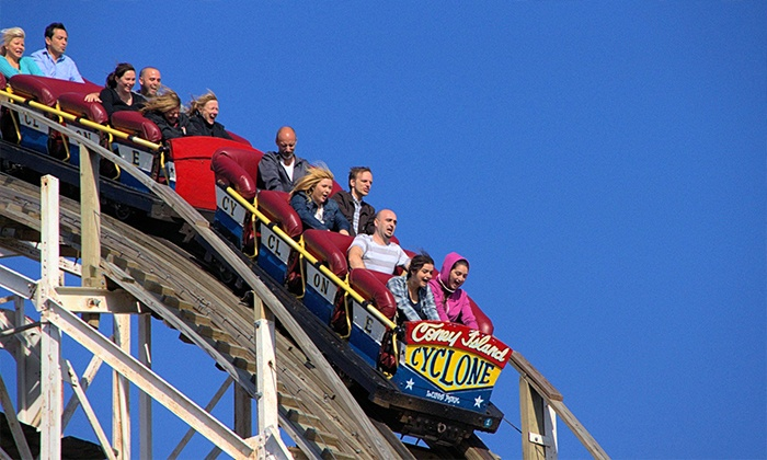Luna Park in Coney Island - Coney Island Luna Park: Four-Hour Ride Wristband with Optional Additional Rides at Luna Park in Coney Island (Up to 55% Off)