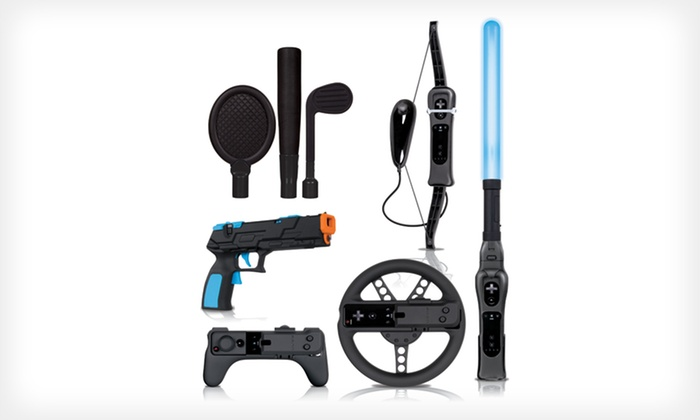 Action Pack Plus for Wii: $33.99 for a Action Pack Plus Game-Accessory Package for Wii ($59.99 List Price). Free Shipping and Returns.