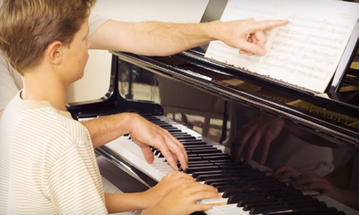 Studio Nine School of Music - Calgary: Two or Four 30-Minute Private Music Lessons at Studio Nine School of Music (Up to 56% Off)