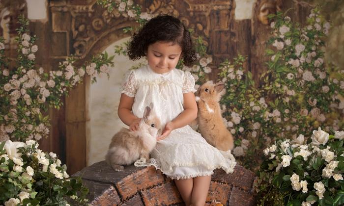 Leasures Designer Portraits - Chandler: Children's or Family Portrait Shoot with Print at Leasures Designer Portraits (Up to 61% Off)