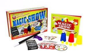 Professor Murphy's Magic Show Kit with Book (21-Pieces)