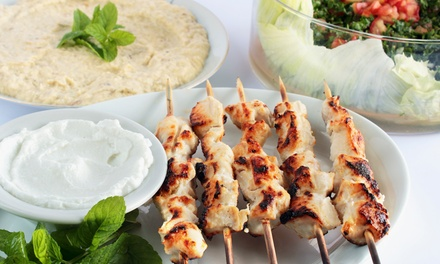 Orientalisches 4-Gänge-Erlebnis-Menü für zwei, vier oder sechs Personen im Restaurant Istanbul (bis zu 60% sparen*)