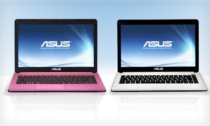 """ASUS 14"""" Laptop: $299.99 for ASUS 14"""" Laptop in Pink or White (Manufacturer Refurbished) ($369.99 List Price). Free Shipping and Returns."""