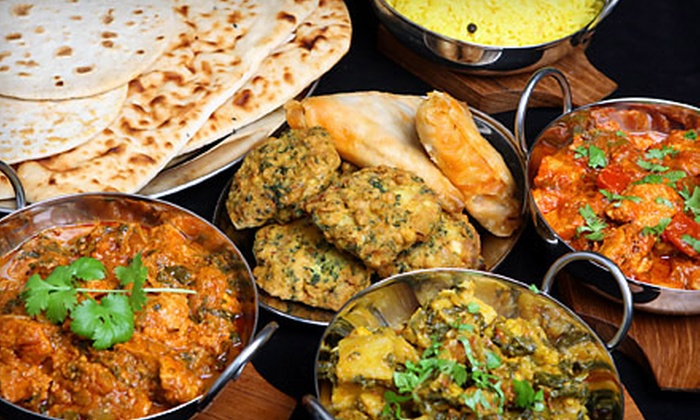 Chakra Cuisine - Beverly Hills: Indian Food for Lunch or Sunday Brunch Buffet with Bottomless Champagne for Two at Chakra Cuisine (Half Off)