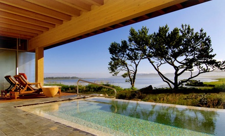 Stay at Salishan Spa and Golf Resort in Gleneden Beach, OR. Dates into June.