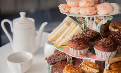 image for Afternoon Tea for Two or Four with Optional Prosecco at Nuts Bistro