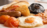 Full English Breakfast with Juice for Two or Four at The Keys (Up to 65% Off)