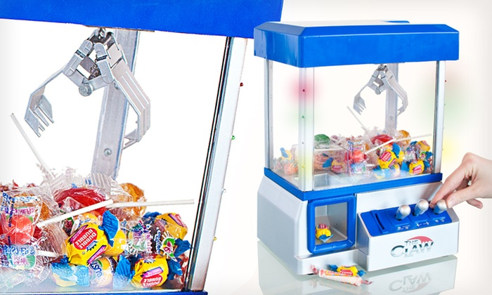The Claw Candy and Toy Machines: The Original or Deluxe Claw Candy and Toy Machine (Up to 47% Off). Free Shipping.