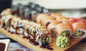 Tabu Sushi Bar & Grill: Sushi and Japanese Dinner for Two or Four at Tabu Sushi & Grill (Up to 47% Off)