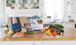 Blue Apron: Delivered Meals for Two or for a Family, with Shipping from Blue Apron (Up to 35% Off)